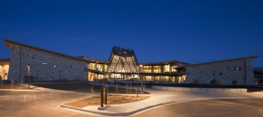 Jones & Jones, Southern Ute Cultural Center, 2011 (photo: NorthShore Production, Southern Ute Cultural Center and Museum)
