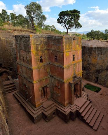 Bet Giyorgis Church, Lalibela, Ethiopia, c. 1220 (photo: Henrik Berger Jørgensen, CC BY-NC-ND 2.0)