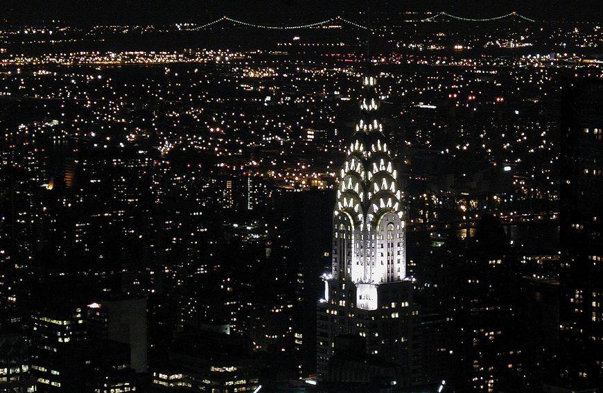 Chrysler Building at night, photo: Kim Carpenter, CC: BY 2.0