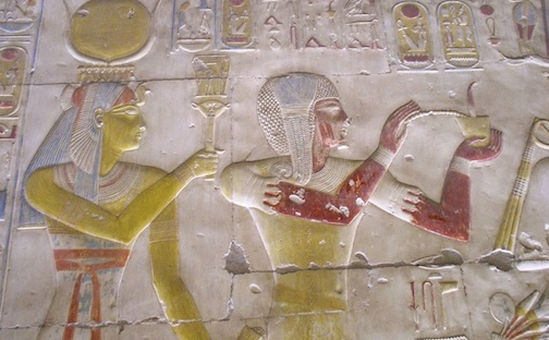 Materials and techniques in ancient Egyptian art