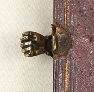 Clasps: hugging a medieval book