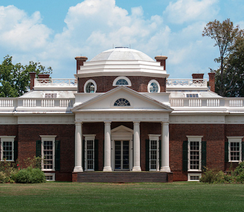 Thomas Jefferson, Monticello, Charlottesville, Virginia, 1770-1806 (Photo: Rick Stillings, CC BY-NC-SA 2.0)