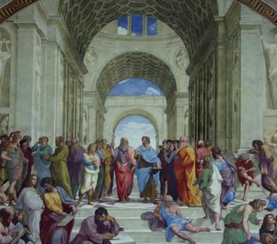 Raphael, School of Athens (detail)