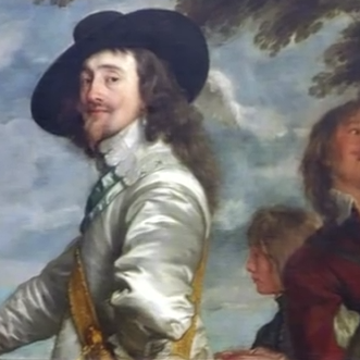 Anthony van Dyck, Charles I at the Hunt (detail)
