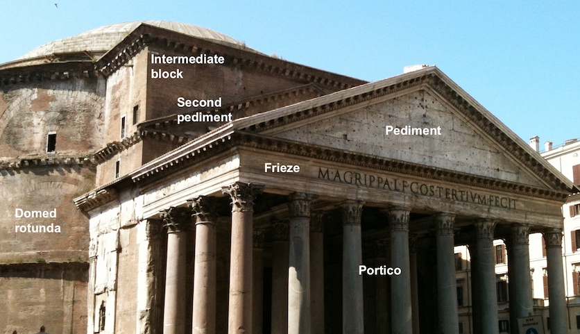 The Pantheon, Rome, c. 125