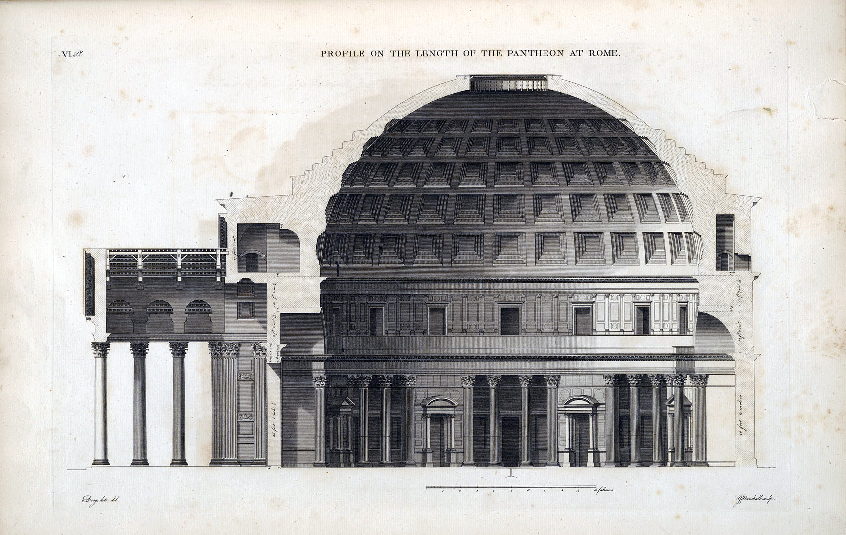 Pantheon Elevation