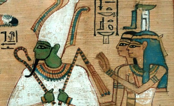 Hunefer's Judgement in the presence of Osiris, Book of the Dead, 19th Dynasty, New Kingdom, c. 1275 B.C.E., papyrus, Thebes, Egypt (British Museum)