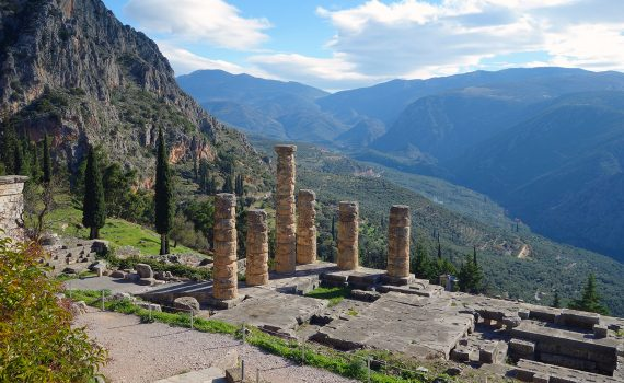 Sanctuary of Apollo, Delphi