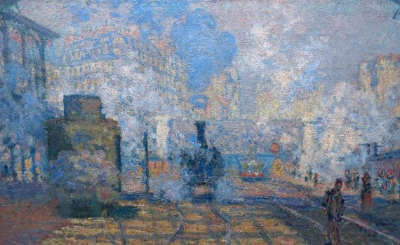 Monet, <em>The Gare Saint-Lazare</em>