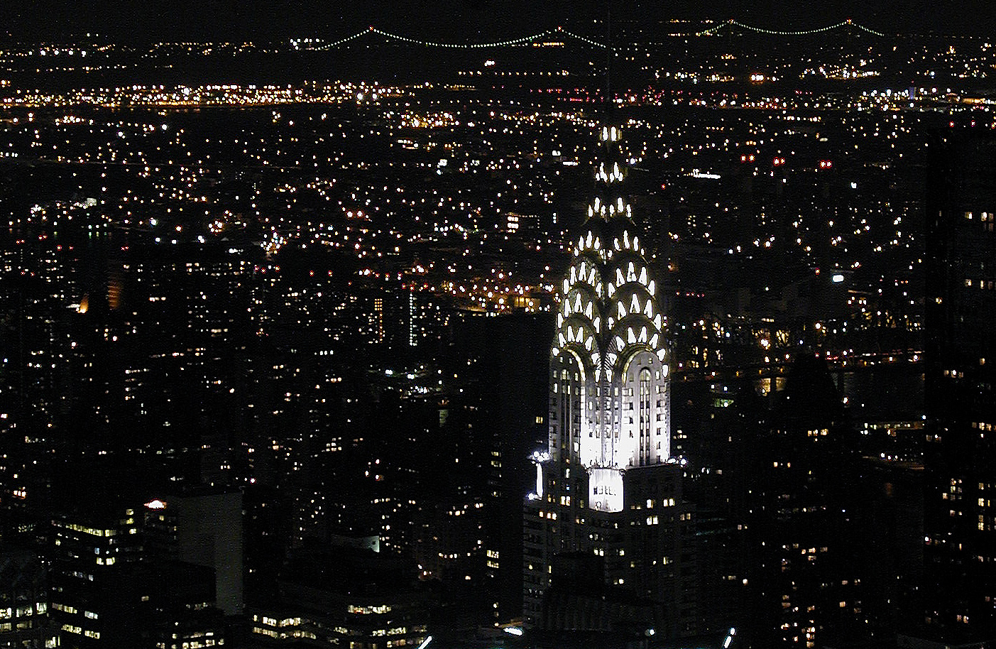 Chrysler Building at night, photo: Kim Carpenter, CC: BY 2.0