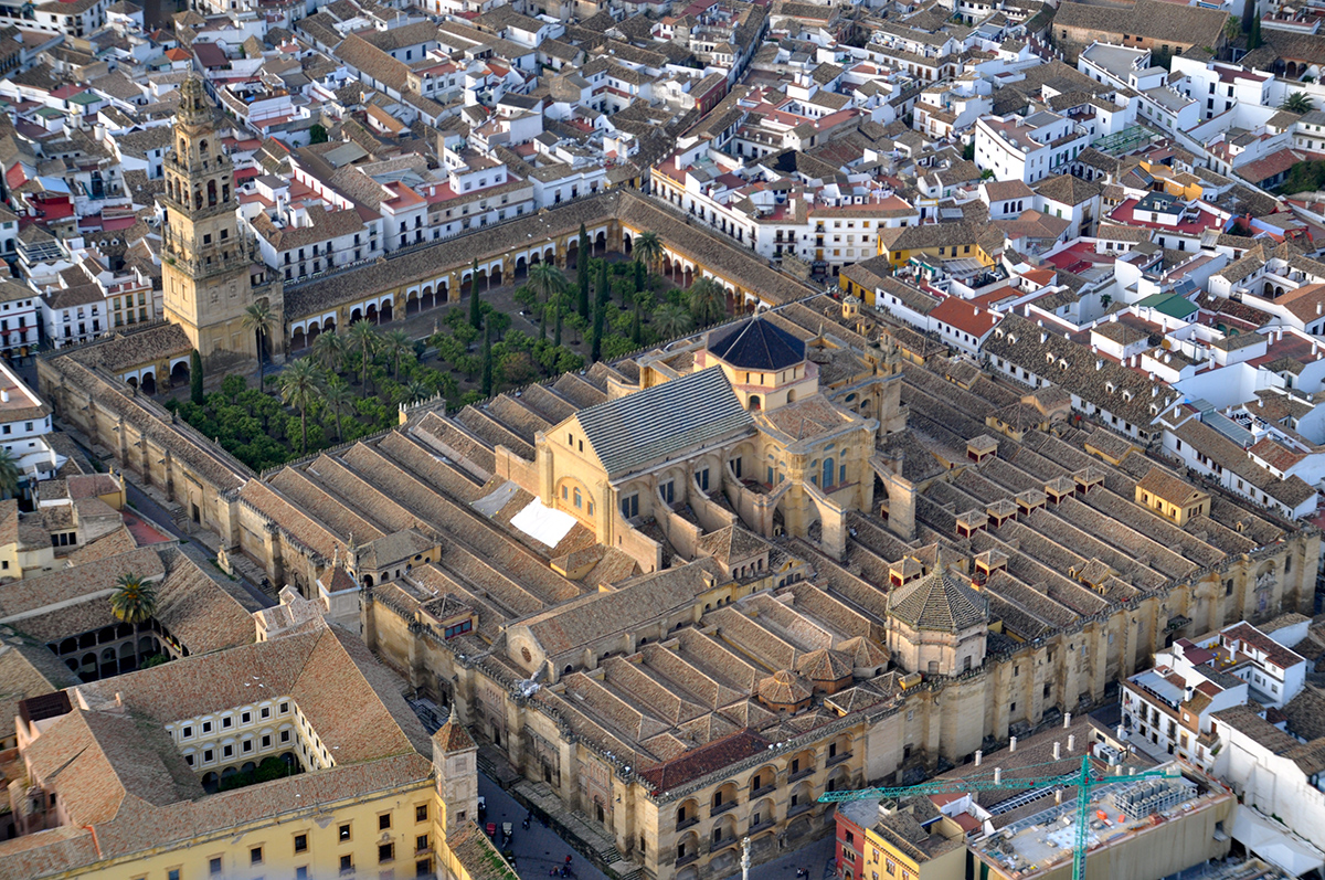 Great Mosque of Cordoba, Cordoba, Spain, begun 786, cathedral added 16th century
