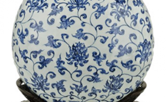 Chinese porcelain: production and export