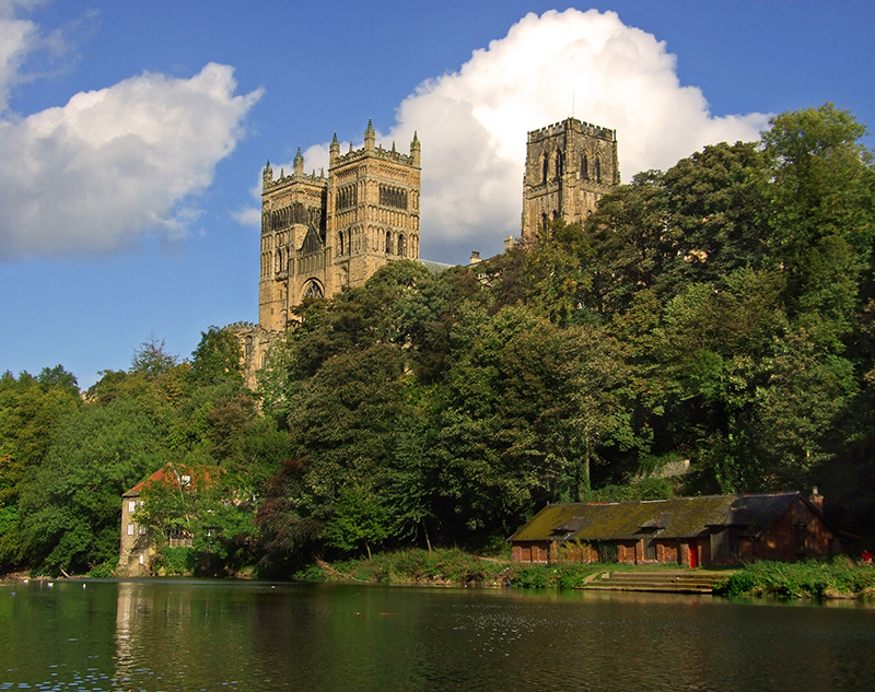 Durham Cathedral, founded 1093 (Durham, England)