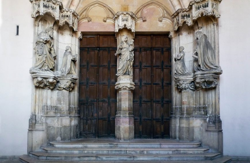 Claus Sluter workshop, Portal of the Charterhouse of Champmol, c. 1385-93 (photo: Dr. Steven Zucker)