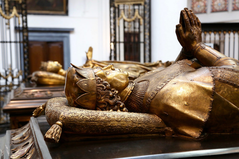 Tombs of Mary of Burgundy and Charles the Bold in the Church of our Lady in Bruges (photo: Alexey Yakovlev, CC BY-SA 2.0)