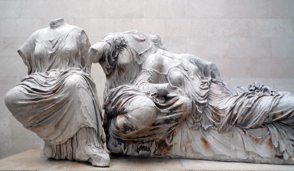 Phidias (?), Sculpture from the east pediment of the Parthenon, marble, c. 448-432 B.C.E. (British Museum, London)