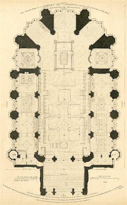 Ground plan, Henry VII Chapel