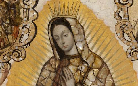 Miguel González, <em>The Virgin of Guadalupe</em>