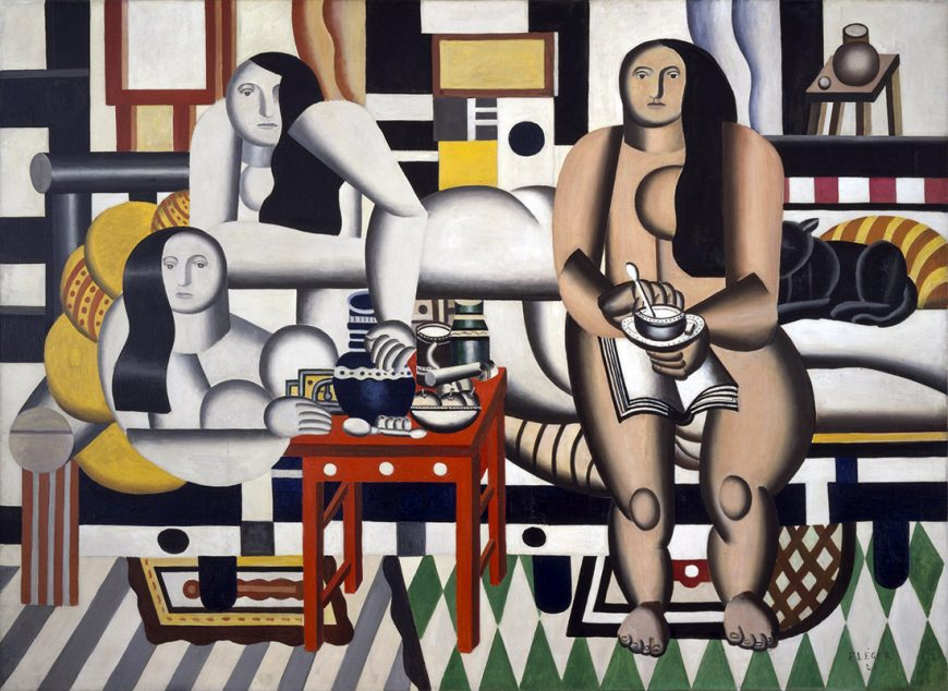 Fernand Léger, Three Women, 1921-22, oil on canvas, 183.5 x 251.5 cm (The Museum of Modern Art, New York)