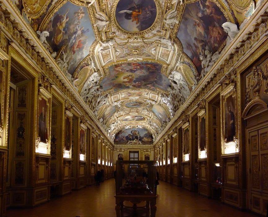 Louis Le Vau (architect), Salon of Apollo (Galerie d'Apollon), Louvre, begun 1661