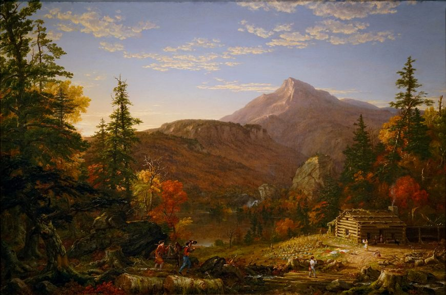 Thomas Cole, The Hunter's Return, 1845, oil on canvas (Amon Carter Museum of American Art)