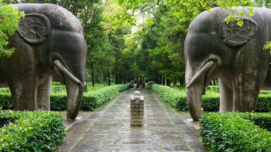Tomb of the founder of the Ming dynasty, Nanjing, China