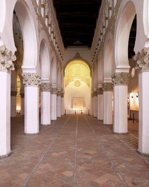 Ibn Shoshan Synagogue (now Santa María la Blanca), first built 1180, Toledo, Spain (photo: José Luis Filpo Cabana, CC BY-SA 3.0)