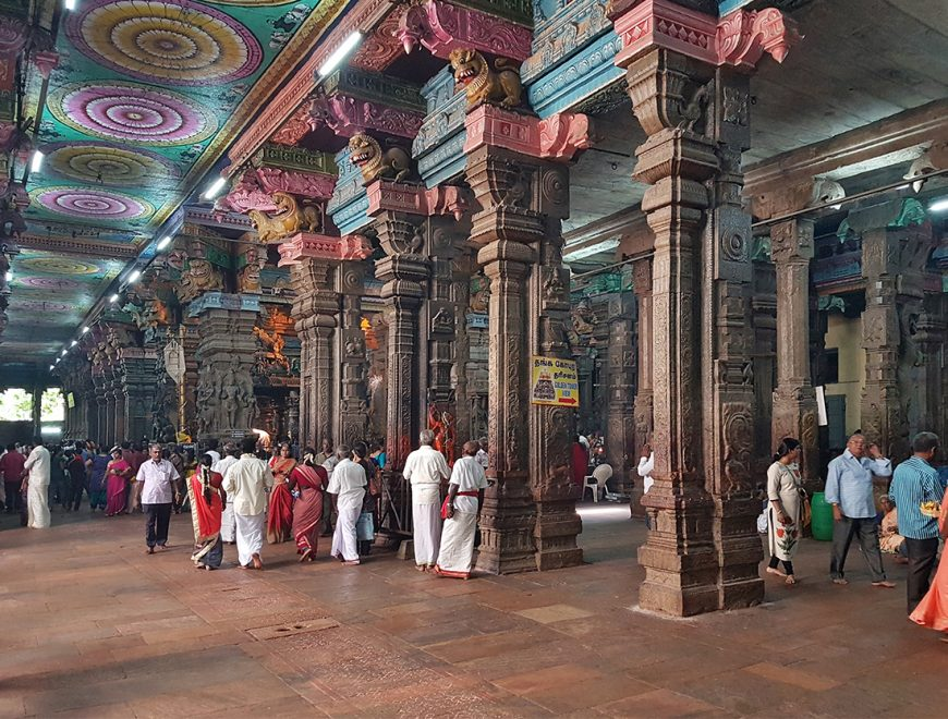 Meenakshi Temple, Madurai, India (photo: Richard Mortel, CC BY 2.0)