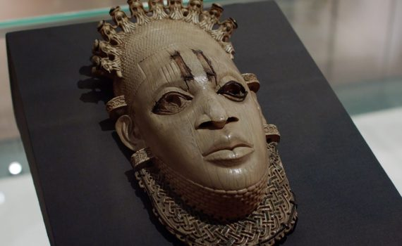 Benin ivory mask, HENI talks