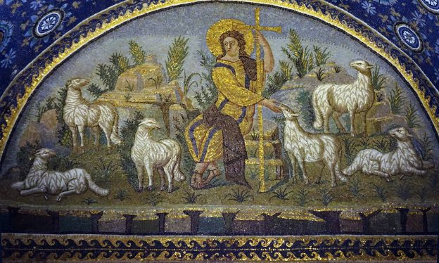 Christ as the Good Shepherd, Gala Placidia