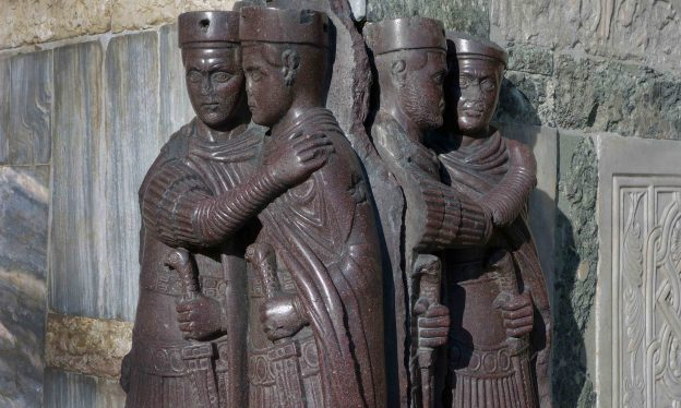 Portraits of the Four Tetrarchs