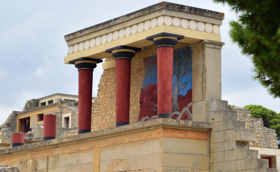 The Palace at Knossos (Crete)