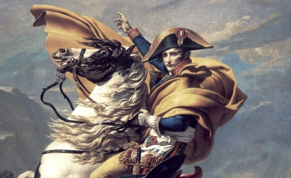 David, Napoleon Crossing the Alps
