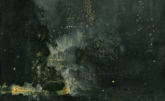 Whistler, <em>Nocturne in Black and Gold: The Falling Rocket</em>