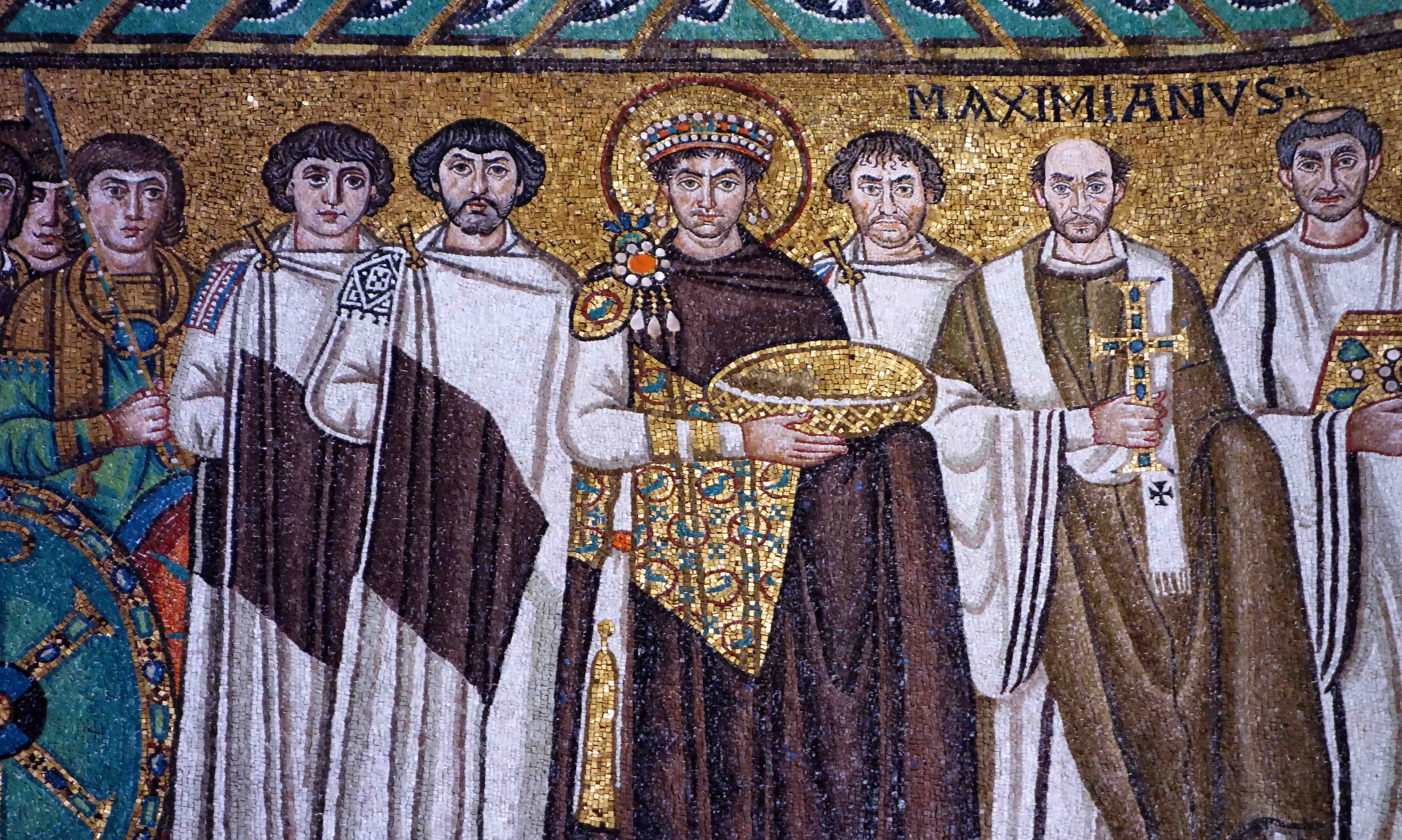 San Vitale and the Justinian Mosaic