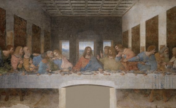 Leonardo da Vinci, Last Supper - detail