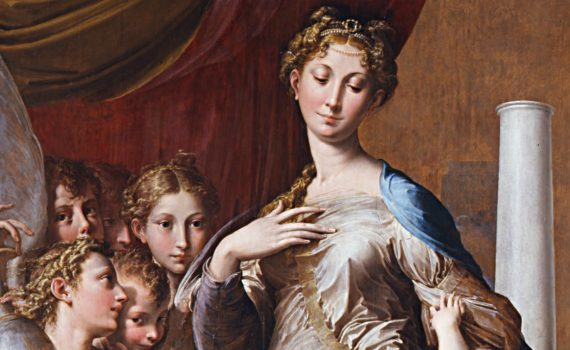 Parmigianino, <em>Madonna of the Long Neck</em>