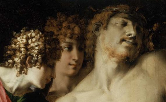 Rosso Fiorentino, <em>The Dead Christ with Angels</em>