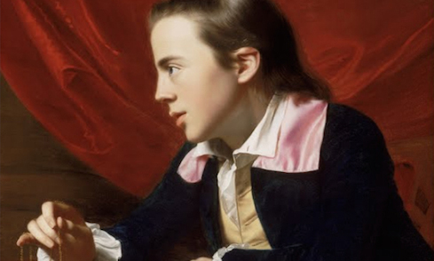 John Singleton Copley, A Boy with a Flying Squirrel