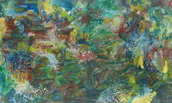 Emily Kame Kngwarreye, <em>Earth's Creation</em>