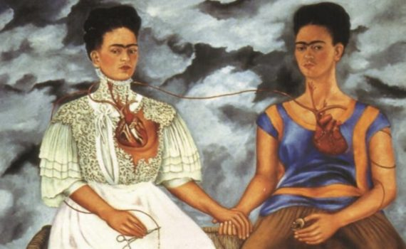 Frida Kahlo, <em>The Two Fridas (Las dos Fridas)</em>
