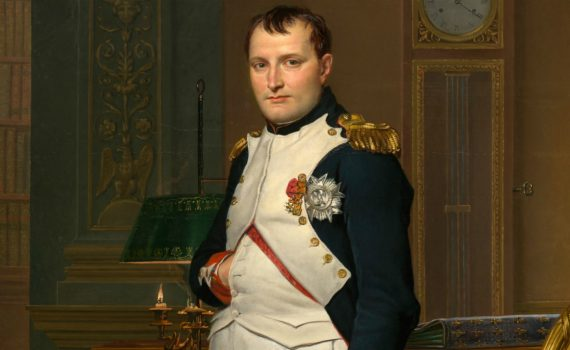 David, <em>The Emperor Napoleon in His Study in the Tuileries</em>