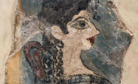 La Parisienne, from the Camp Stool fresco, palace of Knossos