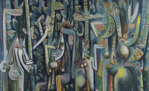 Wifredo Lam, <em>The Jungle</em>