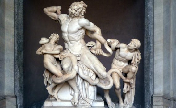 Athanadoros, Hagesandros, and Polydoros of Rhodes, <em>Laocoön and his Sons</em>