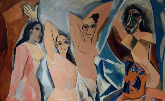 Detail, Picasso, Les Demoiselles d'Avignon
