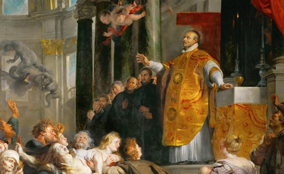 Peter Paul Rubens. The Miracles of St. Ignatius of Loyola, Altarpiece, c. 1617-18 (Kunsthistorisches Museum, Vienna)