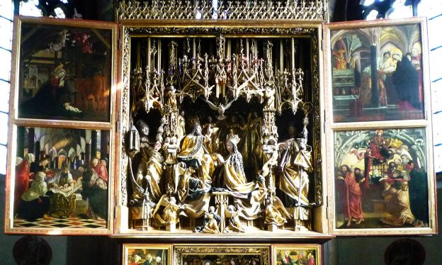 Michael Pacher, St. Wolfgang Altarpiece, c. 1479-81 (Church of St. Wolfgang, St. Wolfgang, Austria)