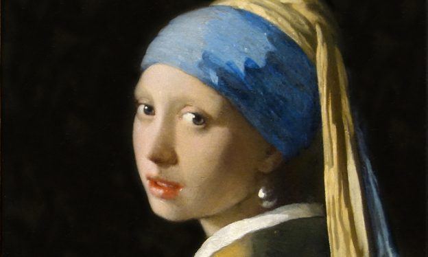 Johannes Vermeer, Girl with a Pearl Earring, c. 1665, oil on canvas, 44.5 x 39 cm (Mauritshuis, The Hague)