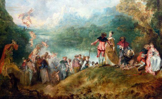 Antoine Watteau, <em>Pilgrimage to Cythera</em>